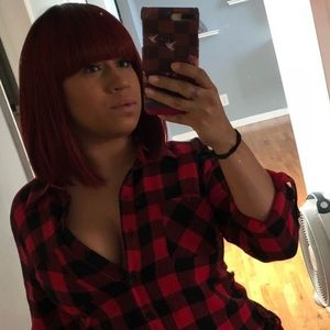 Other - Red Bob Wig